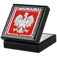 Polska Shield / Poland Shield Keepsake Box