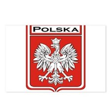 Polska Shield / Poland Shield Postcards (Package o