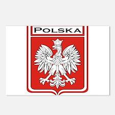 Polska Shield / Poland Shield Postcards (Package o