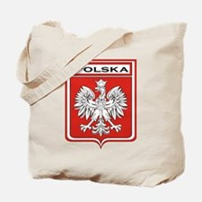 Polska Shield / Poland Shield Tote Bag