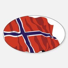 NORWAY-wavy.jpg Decal