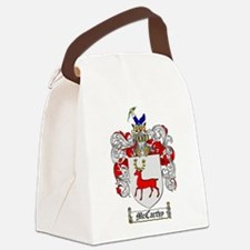 McCarthy Family Crest Canvas Lunch Bag
