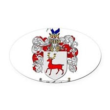 McCarthy Family Crest Oval Car Magnet