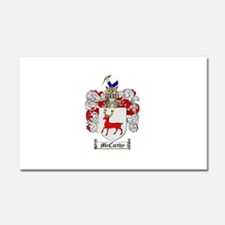 McCarthy Family Crest Car Magnet 20 x 12