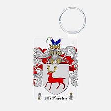 McCarthy Family Crest Keychains