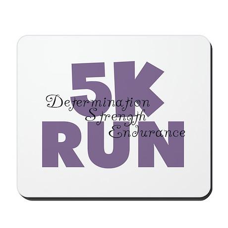 5K Run Purple Mousepad
