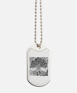 Celtic Tree of Life Ink Dog Tags
