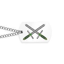 Celtic Crossed Daggers Dog Tags