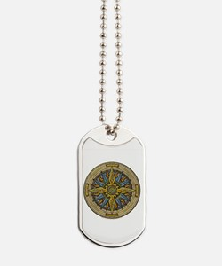 Celtic Compass Dog Tags