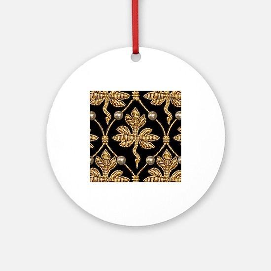 Queen Elizabeth I. Phoenix Portrait Ornament (Roun