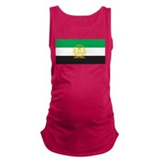 Afghanistan 1992 Flag Maternity Tank Top