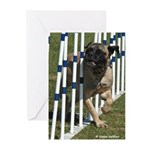 Weaving Mastiff Greeting Cards (Pk of 10)