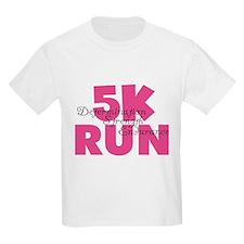 5K Run Pink T-Shirt