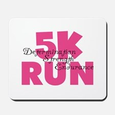 5K Run Pink Mousepad