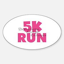 5K Run Pink Decal