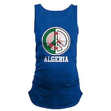 Peace In Algeria Maternity Tank Top