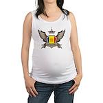 Andorra Emblem Maternity Tank Top