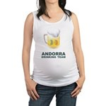 Andorra Drinking Team Maternity Tank Top