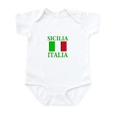 Sicilia, Italia Infant Bodysuit