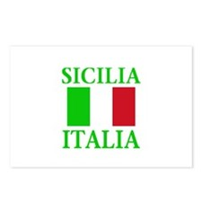 Sicilia, Italia Postcards (Package of 8)