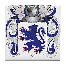 Crichton Coat of Arms Tile Coaster