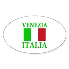 Venezia, Italia Oval Decal