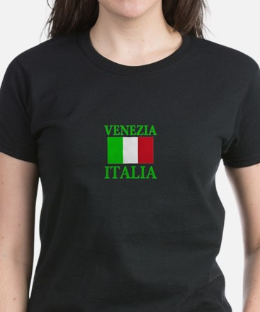 Venezia, Italia Women's Dark T-Shirt
