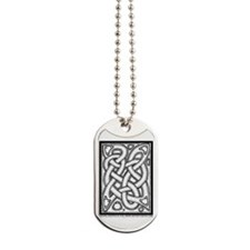 Celtic Knotwork Illustrated Dog Tags