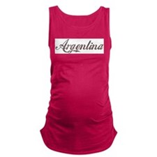 Vintage Argentina Maternity Tank Top