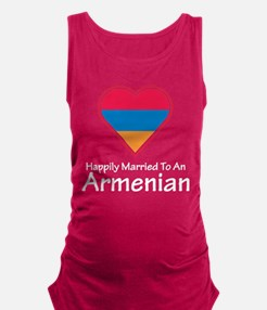Happily Married Armenian Maternity Tank Top