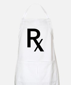 Pharmacy Rx Symbol Apron