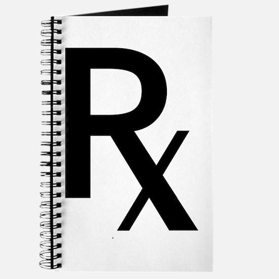 Pharmacy Rx Symbol Journal