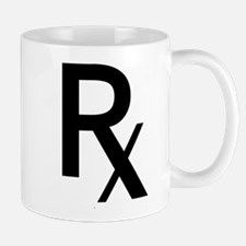 Pharmacy Rx Symbol Mug