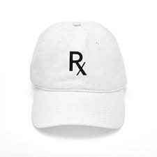 Pharmacy Rx Symbol Baseball Baseball Baseball Cap