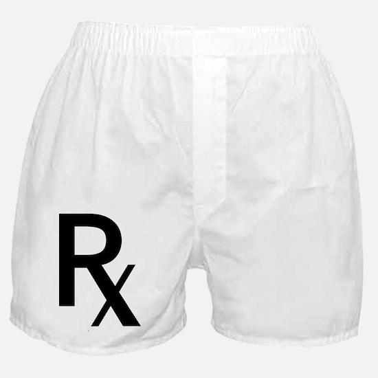Pharmacy Rx Symbol Boxer Shorts