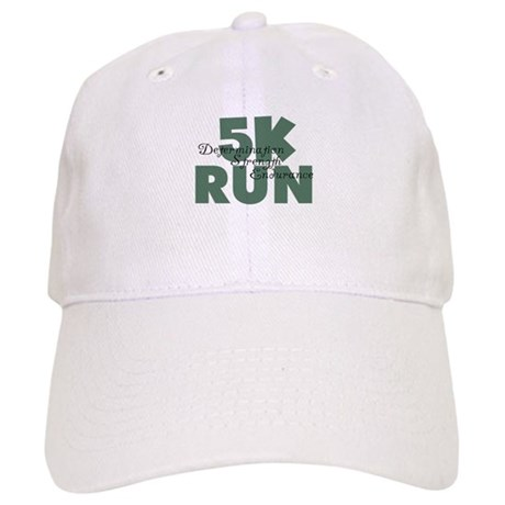 5K Run Teal Green Cap