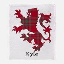 Lion - Kyle Throw Blanket