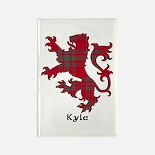 Lion - Kyle Rectangle Magnet
