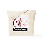 Addicted To Cookbooks Tote Bag