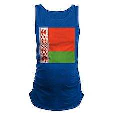 Belarus Flag Maternity Tank Top