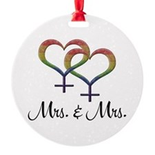 Mrs Mrs Ornament