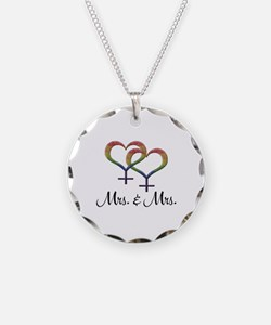 Mrs. & Mrs. Necklace