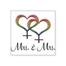 Mrs Mrs Sticker
