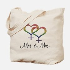Mrs. & Mrs. Tote Bag