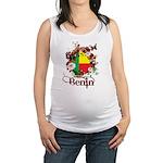Butterfly Benin Maternity Tank Top