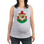 Bermuda Coat Of Arms Maternity Tank Top