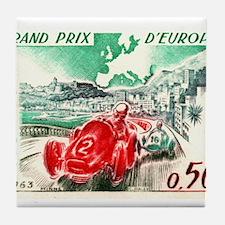 Vintage 1963 Monaco Gran Prix Race Postage Stamp T
