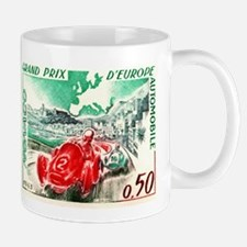 Vintage 1963 Monaco Gran Prix Race Postage Stamp M