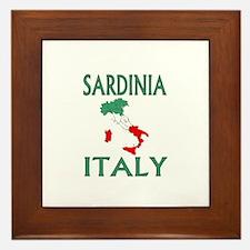 Sardinia, Italy Framed Tile