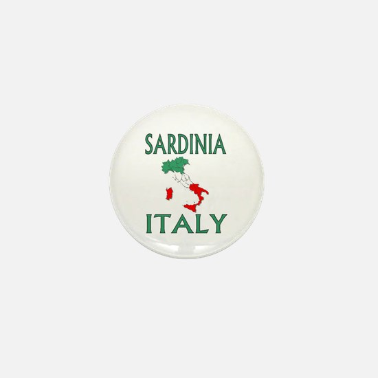 Sardinia, Italy Mini Button